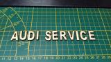 Diorama 3D Werbe Tafel Audi Service
