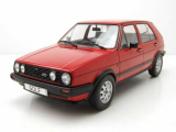 VW Golf 2 GTD 5-Türer 1984 rot Modellauto 1:18 MCG
