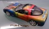 Chevrolet Corvette C5 1997 m. Airbrush New York Limitiert ( W. Detert )