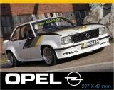 3 X Aufkleber Opel Logo / Manta / Ascona / Kadett