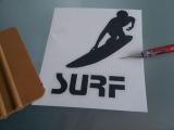 Surfer Aufkleber