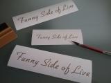 Funny Side of Life  SET a 3 Aufkleber