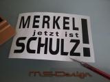 MERKEL jetzt ist Schulz