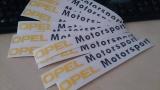Aufkleber  Opel Motorsport