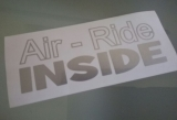 Air - Ride Inside Typ A ! - Tuning Sticker