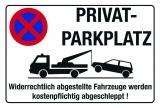 Privat Parkplatz