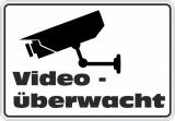 Video überwacht Neu selbstklebender Digitaldruck Wasserfest