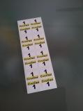 16 Aufkleber Startzahlen Lineltex NR . 1 Digitaldruck selbstklebend