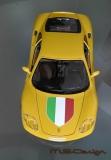 Modena 360 Italien Flagge Motorhaube Aufkleber 1:18 selbstklebend