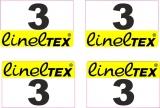 16 Aufkleber Startzahlen Lineltex NR . 3