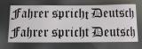 Fahrer spricht Deutsch  Typ 3