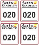 Startzahlen Auto Trauder #020 - 029    Modellbau 1:18