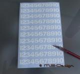 100 Stück 1,2 cm) Klebezahlen ,Aufkleber   Addled