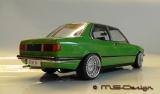 BMW 318i (E21), 1975, green mit  Echtalufelgen   1:18