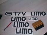 Kadett GT/V LIMO Aufklebesatz