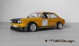 Audi 80 GTE, 1972, yellow / black Gruppe 2 Umbau 1:18