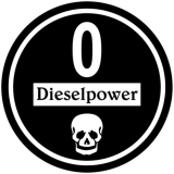 Feiner Staub Plakette Schwarze Plakette Dieselpower 0 Sticker, JDM, Aufkleber
