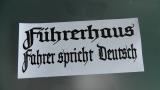 Führerhaus , Fahrer spricht Deutsch / für LKW Auto JDM / GAG / Fun