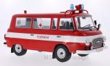 Barkas B 1000 Kleinbus, Feuerwehr, Ambulanz, Türen und Hauben geschlossen, 1965 - 1:18