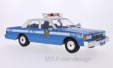 Chevrolet Caprice Classic Sedan, hellblau, Police, Türen und Hauben geschlossen, 1985 - 1:18