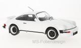 Porsche 911, weiss, Plain Version, 1982 - 1:18
