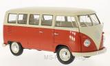 VW T1, beige/hellrot, Bus, 1963 - 1:18
